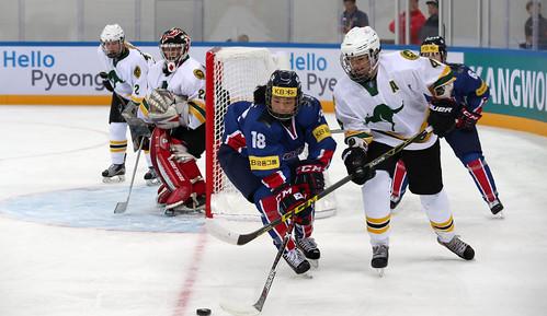 Korean Women Ice Hockey