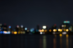City at night (isagsr) Tags: night bokeh color canon condado caribe dof skyline reflection light longexposure