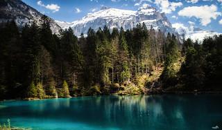 The Blue Lake, Switzerland