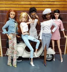 Designers (amartpas) Tags: barbie basics goddess itsagirl mackie thelook nightout mbili claudettegordon coach lara squishtish thescissorsmadrid cozycouture dressaitor miniaturegalore elizavetta