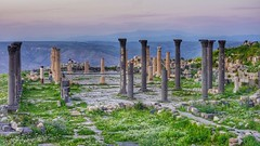 Omm Qays - Jordan (ibndzerir) Tags: 50mmf18 a65 sony landscape oldfortress ommqays jordan