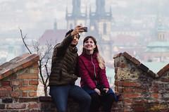 A Prague Selfie (C McCann) Tags: pražskýhrad praguecastle praha prague czechia czechrepublic czech selfie castle sunset evening dusk love
