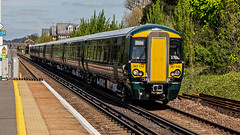 387149 (JOHN BRACE) Tags: 2016 bombardier derby built class 387 electrostar emu 387149 seen horley station test unbranded gwr livery