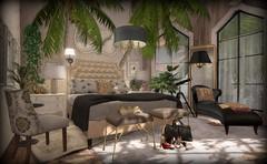The Palm Room (AGodenot) Tags: scarletcreative heartgardencenter applefall loft collabor88 aria lisp 8f8 elan soy spell garbaggio compulsion dutchie spargel shine