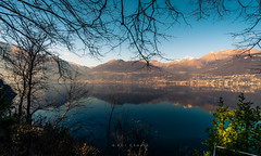 Water mirror - Como lake (ruicâmara) Tags: fujifilm xt2 landscape lake italy photography rui câmara mirror fujinon romantic trip montains snow samyang 12mmf20 wideangle