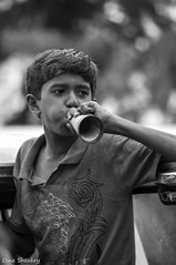 Mumbai Gunpati (Dina Shoukry) Tags: india mumbai places blackwhite faces gunpati children school waki mcleodganj travel closeups nikon
