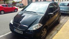 Sofia (София), Bulgaria - CA 0770 AK - Mercedes A Class (Flavio1179F) Tags: mercedes a class black old bulgarian license plate sofia