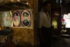 Portrait Aung San Su kyi (Ele Nora) Tags: myanmar burma landscapes asia southeastasia backpacking rural life city yangon twante kalaw inle lake minorities monks pagodas temples