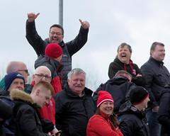 The good days are back again says Macca (Stevie Doogan) Tags: clydebank cumbernauld utd mcbookiecom west scotland league superleague first division holm park saturday 15th april 2017 bankies scottish juniors