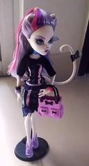 Catrine 2 (Sapplejack) Tags: mh monsterhigh mattel doll catrinedemew catrine de mew scaris newscaremester new scaremester toy