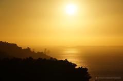 Golden sea (PHOTOGRAFIEBER) Tags: portugal roadtrip lisboa lisbon sun sunset sea reflection spiegelung