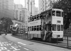 hong kong streets (Greg M Rohan) Tags: urban city streets hongkongisland tram hongkong photography blackwhite bw blackandwhite monochrome d7200 2017
