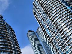 Skyscraper, Toronto, Ontario (duaneschermerhorn) Tags: toronto ontario canadaarchitecture building skyscraper structure highrise architect modern contemporary modernarchitecture contemporaryarchitecture