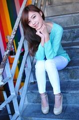 Yibi0002 (Mike (JPG直出~ 這就是我的忍道XD)) Tags: yibi 西門町 d300 model beauty 外拍 portrait 2013 fifi