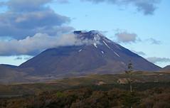 Mt Ngauruhoe (terri-t) Tags: mount ngauruhoe tongariro nationalpark np nz newzealand aotearoa clouds volcano landscpae nature balcony view north island crater snow