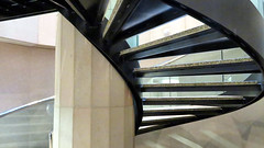 Spiral Staircase, PATH, Toronto, Ontario (duaneschermerhorn) Tags: stairs steps stairway staircase spiralstairs spiral architecture architect