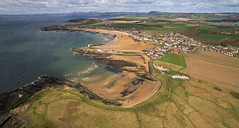 Elie Beach (justinking1986) Tags: elie beach dji inspire drone anstruther scotland sunset