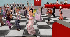 ACT Sensational Sixties Dance-along (Osiris LeShelle) Tags: secondlife second life avilion heart act cameo theatre dance along dancealong sixties sensational dancing show music