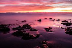 Sunset Light . XT1 . (AKromatiCK) Tags: sunset seascape sea agde france occitanie languedocroussillon mer coucherdesoleil plage playa longexposure expositionlongue fujifilmxt1 xt1 xtrans fujifilm