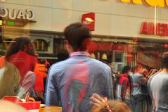reflections of amsterdam (meeeeeeeeeel) Tags: europeanunion europe europa viagem tourism travel nikon nederland netherlands holanda holland amesterdão amsterdã peopleonthestreets people candid streetshot reflexos surreal amsterdam reflections