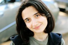 (karabakiellena) Tags: she her herself portrait portraiture shorthair eyes 50mm canon springs warm