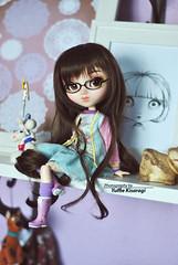Nerd Friday (·Yuffie Kisaragi·) Tags: doll pullip youtsuzu custom yuzuaesthetic makoto obitsu rewigged rechipped