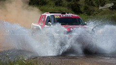 Alejandro Martins & José Marques (P.J.V Martins Photography) Tags: todooterreno toyota hilux car allroad allterrain racingdriver racing terrain rally rali outdoors portugal loulé 4x4 4wd carro vehicle wet water