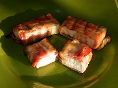 "Tofu im Baconmantel (PixelFänger aka Eberhard ""Moses"" Mößer) Tags: tofu bacon essen food deutschland germany selbstgemacht homemade"