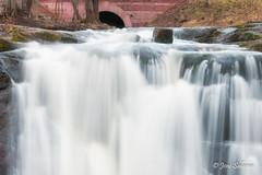 Waterfall of Strömberg park (Joni Salama) Tags: strömberginpuisto vesi pitäjänmäki longexposure luonto photoshop nikcollection helsinki suomi vesiputous helsingfors uusimaa finland fi