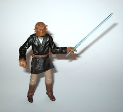 VC49 fi-ek sirch jedi knight star wars the vintage collection star wars attack of the clones basic action figures hasbro 2011 f (tjparkside) Tags: fiek fi ek sirch star wars tvc vintage collection vc aotc attack clones jedi knight episode 2 ii two battle geonosis lightsaber hilt cloak cape rode vc49 49 2011 basic action figures hasbro