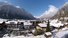 Bellevue (karlh1970) Tags: blueskysnow winterlandscape austriantirol hotelbellevue bellevue neustiftimstubaital snowboarding springsnow winter stubai neustift winterbeauty