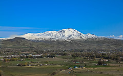 Valley Of Plenty (http://fineartamerica.com/profiles/robert-bales.ht) Tags: easternidaho emmett forupload gemcounty haybales idaho landscape mountain people photo places projects states snow spring sweet sunrise squawbutte farm rollinghills scenic idahophotography treasurevalley clouds emmettvalley emmettphotography trees sceniclandscapephotography thebutte canonshooter beautiful sensational awesome magnificent peaceful surreal sublime magical spiritual inspiring inspirational wow stupendous robertbales town butte goldenhour sunset valley greetingcard