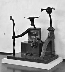 031917-918Fx (kzzzkc) Tags: nikon d7100 usa missouri kansascity nelsonatkins museumofart sculpture capricorn1948 maxernst bronzecast196364