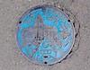 Bandai-Atami manhole (Stop carbon pollution) Tags: japan 日本 honshuu 本州 touhoku 東北 fukushimaken 福島県