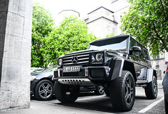 Squared Beast. (FB CS) Tags: mercedes benz amg v8 g g500 500 4x4 4x4² squared 6x6 65 g65 g63 carspotting supercar karlsruhe stuttgart