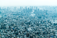 Tokyo Skytree, by Nikken Sekkei, 2012 (Anita Pravits) Tags: aussichtsturm fernsehturm japan nihon nippon skytree tokio tokyo broadcasttower observationtower watchtower
