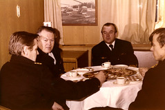 Suomenlahden merivartioston komentajan vaihto (The Museum of Finnish Coast Guard) Tags: merivartija 1970luku työ meri merellä vl valpas vartiolaiva työssä juhla vaihto komentaja 1977 1976