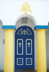 Door (J_Piks) Tags: greece aegean samos ormos