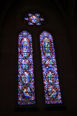 In Loving Memory of Ross and Kathleen O'Shaughnessy (JB by the Sea) Tags: sanfrancisco california april2017 urban nobhill gracecathedral church gothic frenchgothic stainedglass
