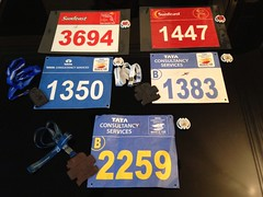 Five years of running in the Bangalore Open 10K: 2009-2013 (teemus) Tags: running 10k