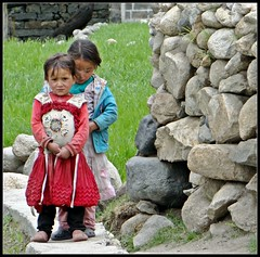Turtuk : village kids (Indianature26) Tags: india april jk ladakh balti baltistan juley 2013 turtuk indianature julley baltivillage ethnicbalti