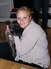 Otto and Annesofie (osto) Tags: dog chien pet animal cane denmark europa europe sony hond perro terrier zealand otto pies dslr scandinavia danmark cairnterrier a300 kpek sjlland  osto alpha300 osto may2013