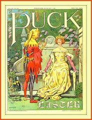 1906 April 11, - Cover - PUCK-     EASTER  by Carl Hassman (carlylehold) Tags: art robert by vintage magazine illustrated cover puck 1906 keeper haefner carlylehold robertchaefner