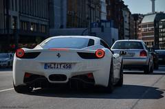 458 (Phillip Mattutis | Photography) Tags: city horses horse cars car racecar hp hamburg ferrari carbon combi rare hsv horsepower combo racecars funcar carspotting 458 funcars hypercar f458 ferrari458 f458italia