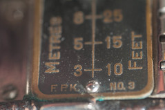 Right Hand Scale (johnfuj) Tags: camera kodak antique tools bellows tool folding rollfilm generalequipment
