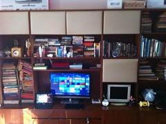 My room. So many books, so little time. (Pandumonium) Tags: time little fb many room books my so