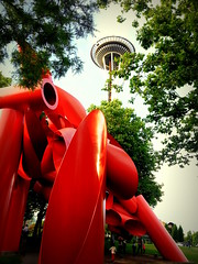 Olympic Iliad (naveencseceg) Tags: seattle cruise summer skyline space needle olympic iliad