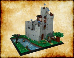 Samostrel Castle (Re-edit) (Eklund!) Tags: castle calendar lego cc legocastle eklund classiccastle