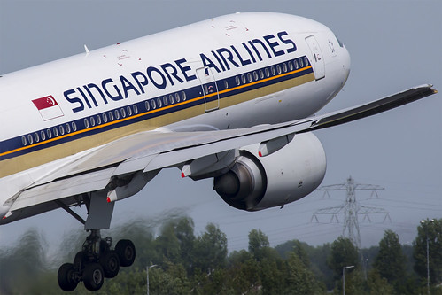 9V-SVB Singapore Airlines Boeing 777