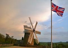 British Heritage (newboldowl) Tags: jack union windmills ambervalley